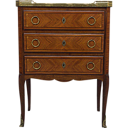 19th c. Louis XVI Style Chest