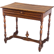 Early 19th c. Louis XIII Style Side Table