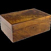 19th c. French Mahogany Vanity Box