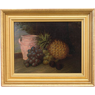 American School Still Life Painting