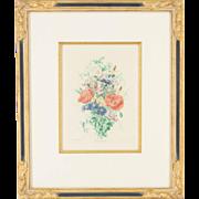 French Botanical Print