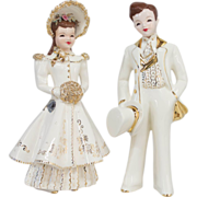Florence Bride & Groom Wedding Cake Topper