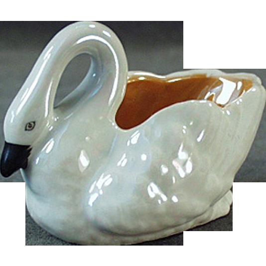 Old, Noritake, Figural Salt Dip - Swan