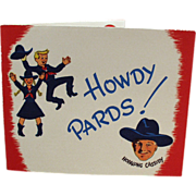 Old, Hopalong Cassidy, Party Invitation