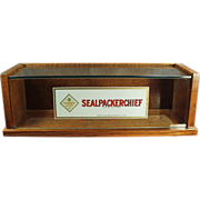 Old, Sealpackerchief, Handkerchief Display Case