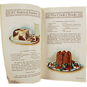 Old, K C Advertising, Recipe Booklet