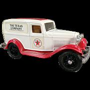 Texaco #3, Ford Delivery Van, Bank - Ertl Die Cast 1986