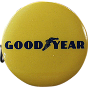 Old, Good Year Tires, Celluloid Advertising Tape Measure