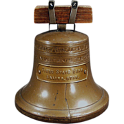 SOLD Old, Liberty Bell, Figural Coin Bank