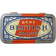 Old, Best British, Razor Tin - No Razor