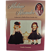 Madame Alexander Price Guide Reference Book - #22