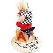 Old, Annalee Doll Society, Logo Doll - 1991