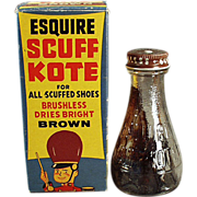 Old, Scuff-Kote Shoe Polish with Circus Theme