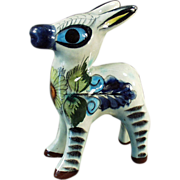 Mexican Pottery, Burro or Donkey, Figurine