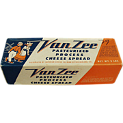 Old, Van Zee, Cheese Box with Dutch Skaters