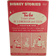 Old, Tru-Vue 3-Dimensional Slides - Disney Stories