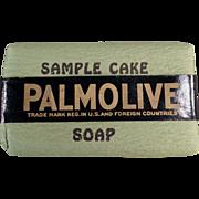 Old, Palmolive Soap, Sample Bar