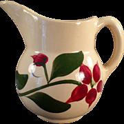 Old, Watt Pottery, #15 Starflower Creamer