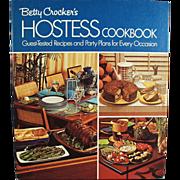Old, Betty Crocker, Hostess Cook Book - 1970's