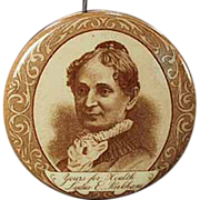 Old, Lydia Pinkham, Advertising Tape Measure, Celluloid