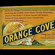 Old, Sunkist, Orange Cove Fruits, Advertising Ink Blotter