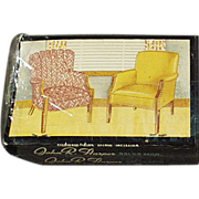Old, Advertising Matchbooks - Fort Smith Chair Company