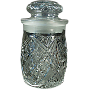Old, Crushed Fruit Jar - Attractive, Soda Fountain Back-Bar Piece