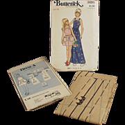 Old, Butterick #3691 Pattern - Little Girls, Pinafore Style Dress - Vintage, Size 14