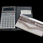 Old, Sharp Electronics, Pocket Data Book - EL6120