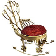 Funky Old Folk Art - Soda Can Rocking Chair