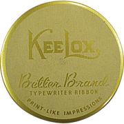 Old, KeeLox, Typewriter Ribbon Tin