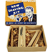 """Old Gag Gift - """"Shaving Kit"""" Souvenir Mailer"""
