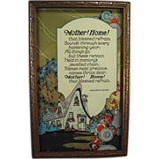 Old, Motto Print - Mother! Home! - Very Nice Graphics