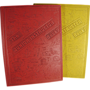 Old, Junior Instructor Books - Two Volume Set