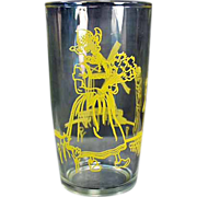 Old, Jelly Glass - Elsie the Borden Cow