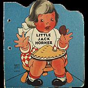 Child's Old Story Book - Little Jack Horner - 1942
