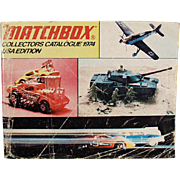 Matchbox Collectors Catalogue - 1974 Identification List