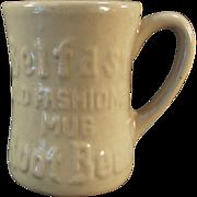Old, Belfast Root Beer Mug - Tepco China - 1950's