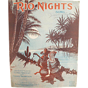 Old Sheet Music - Rio Nights - Nice Graphics