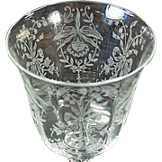Old Heisey, Orchid Etch - Wine Goblet - Four Available