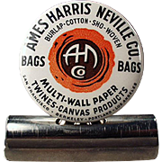 Old, Advertising Bill Clip - Ames Harris Neville - Celluloid