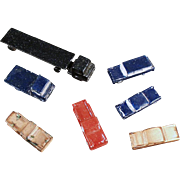 Old, Die Cast Automobiles for Architectural Models