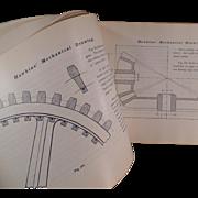 Old Self Help Book - Mechanical Drawing by N. Hawkins
