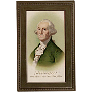 SOLD Vintage, Patriotic Postcard - George Washington