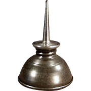 SOLD Old Appliance Oiler - Domed with Spout - Nice Shape