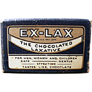 Old, Ex-Lax Laxative Sample Package