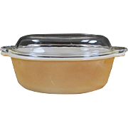 Old, Anchor Hocking Fire King - 1 1/2qt Casserole Dish with Lid