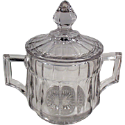 Old, Heisey #393 Pattern - Covered Sugar Bowl
