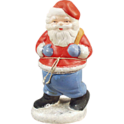 Old Candy Container Santa Claus - West Germany