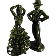 Old, Decorator Accent Figurines - Flamenco Dancers